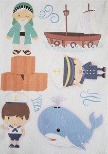 Kit Historinha Bíblica - Jonas e a baleia