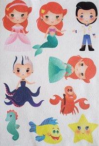Kit historinha Ariel