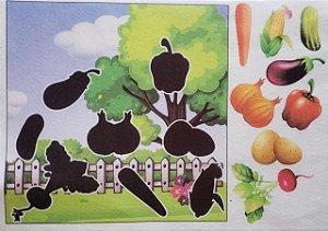 Livro - Sombras - Legumes