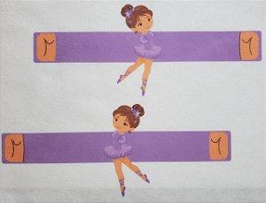 Agarradinho Bailarina Lilás