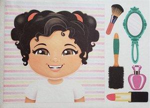 Livro Didático - Menina para por cabelo 3