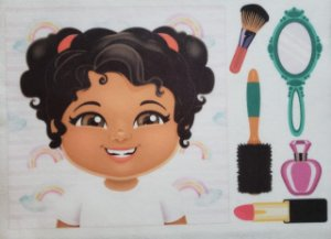 Livro Didático - Menina para por cabelo 5