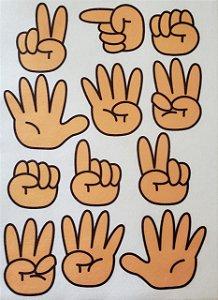 Livro Didático - Mãos de 1 a 10 - 2