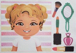 Livro Didático - Menina para por cabelo 4