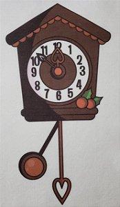 Relógio Retro Natalino