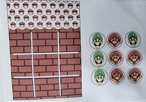 Jogo da velha bolsinha Mario