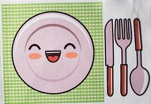 Estampa para Livro - Hora da refeição