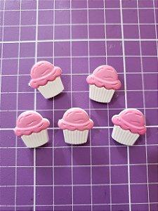 Botões Cupcake 5 Unidades