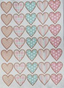 Coração para Clips Candy