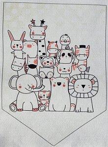 Flamula Animais Minimalista 1