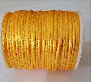 Cordão Cetim / 2mm Amarelo