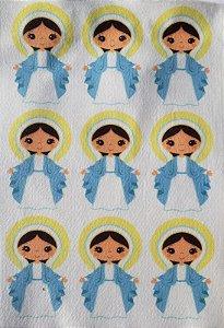 Virgem Maria 9 Cm