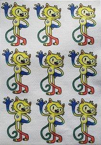 Mascote Brasil Vinicius