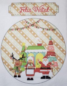Enfeite de Porta Feliz Natal 5