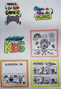 Estampa Quadrada Dia das Crianças Caixa Explosiva 3