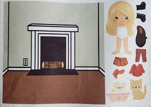 Livro- Bonequinhos de vestir e comodos 5