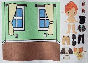 Livro- Bonequinhos de vestir e comodos 6