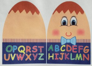 Familia Alfabeto - Sr Alfabeto P azul