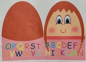 Familia Alfabeto - Sra Alfabeto P Rosa