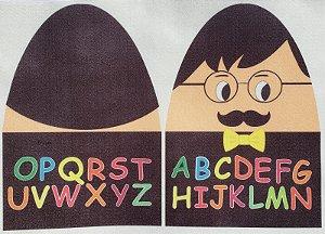 Familia Alfabeto - Sr Alfabeto P Preto