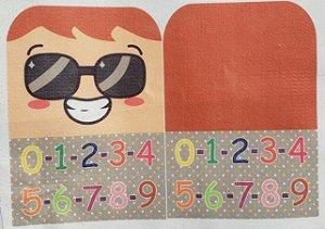 Familia Alfabeto - Sr Numeral P