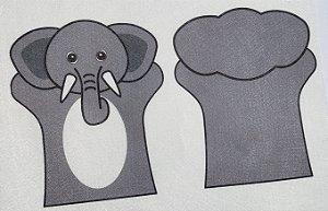 Fantoche Infantil -  Elefante