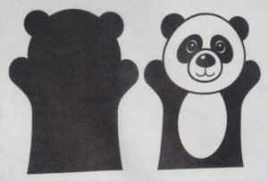 Fantoche Infantil - Panda