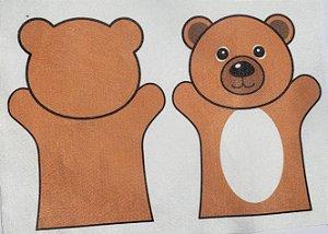 Fantoche Infantil - Urso