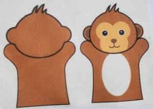 Fantoche Infantil - Macaco