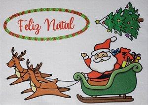 Aplique para Guirlanda - Natal 1