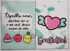 Capa para Cartão de Vacina do SUS - Espalhe amor...
