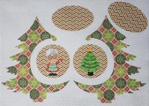 Pinheiro de Natal de Mesa com Bolinhas 2