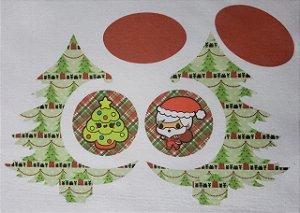 Pinheiro de Natal de Mesa com Bolinhas 5