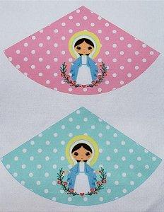 Porta Terço/Guia - Virgem Maria