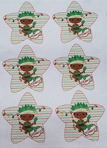 Estrelinha de Natal Orixás - Ossain