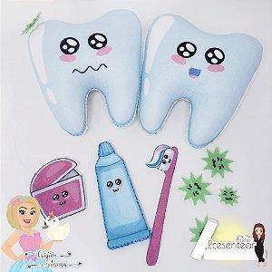 Cuidado Dentário feltro