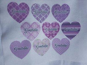 Coração Gratidão