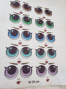 Kit Olhos Lol
