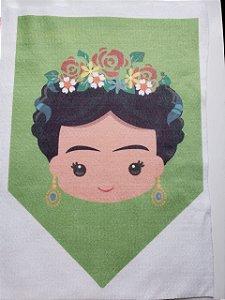 Para recortes - Flâmula Frida Verde