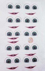 Olhos Masha e o Urso- Apostila Cristina Artmann