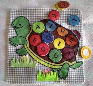 Livro Didático - Tartaruga A - E - I - O - U