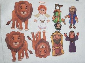 kit Histórinhas Daniel e os Leões