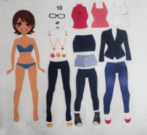 Bonequinha de Vestir 10