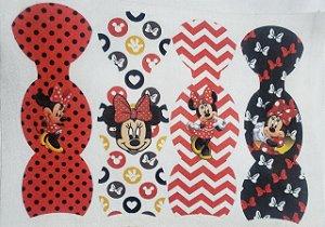 Bolsinha Chaveiro Mickey e Minnie