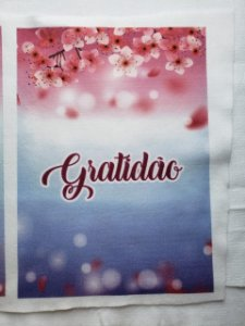 Estampa Gratidão