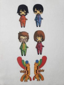 Kit Beatlles Coloridinho