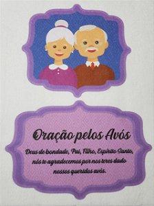 Oração Pelos Avós Roxo
