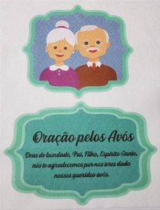 Oração Pelos Avós Verde