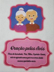 Oração Pelos Avós Rosa