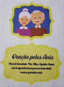 Oração Pelos Avós Amarelo